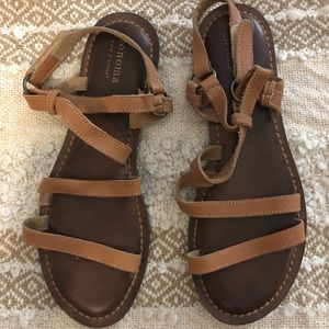Relaxed Boho style Sonoma Sandals size 8